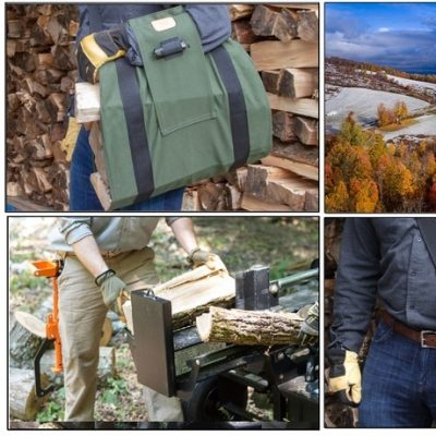 WoodOX Sling – The Ultimate Firewood Carrier to make it easy and faster
