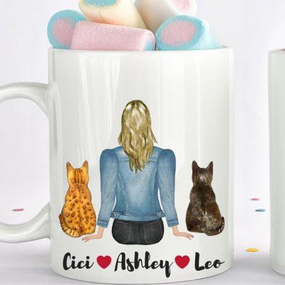 Beautiful cat mugs for cat lovers